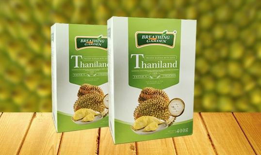 Thailand golden pillows and frozen Durian
