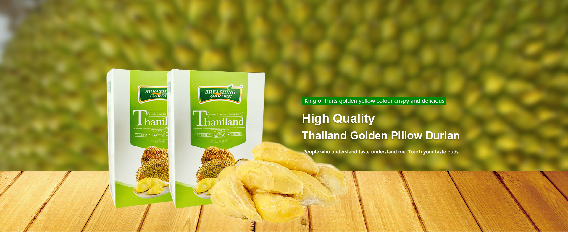 Thailand durian joined